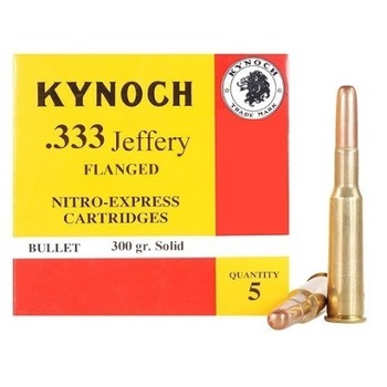 Kynoch ammunition 333 jeffery flanged 300 grain woodleigh weldcore