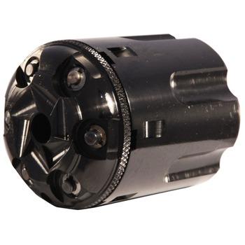 1858 navy pietta steel frame black powder revolver 38 special 6 round